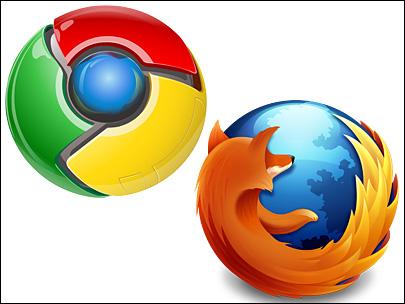 Firefox 29 et Google Chrome se confondent