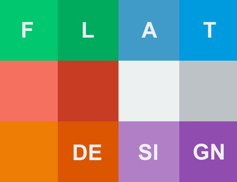 Designer, c'est l'heure du Flat Design