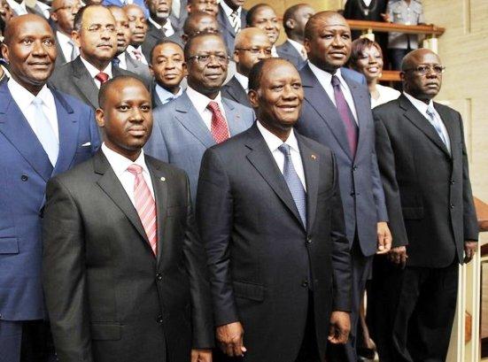 les CV des ministres ivoiriens