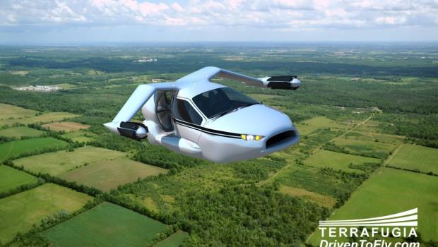 Les voitures volantes sont prêtes