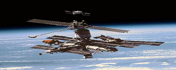 Une station spatiale