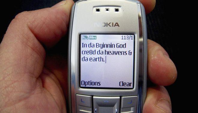 1er mensaje de texto