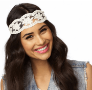 Crocheted Lace Headwrap