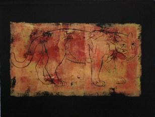 Pantera, 2009, Farbdruck, 24 x 31