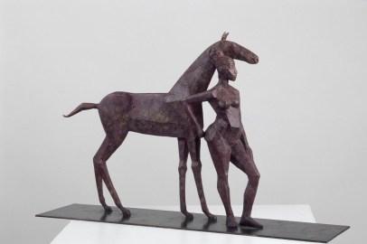 La Yegua, 2008, Bronze, H 46 cm