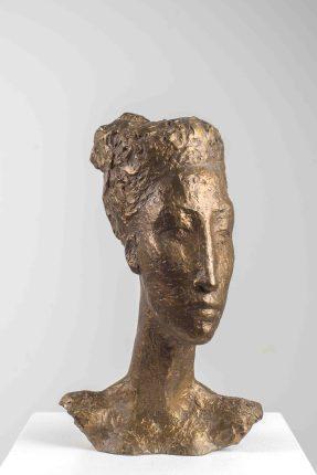 Florentinerin, Bronze,1994, H 24 cm