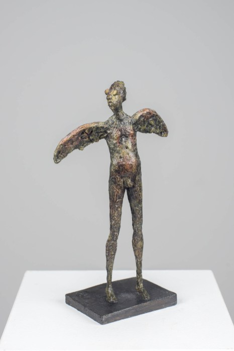 Intellektueller Höhenflug, Bronze, 2018,H 20 cm