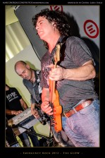 "Marco Dea (Guitar) and Mauro ""The Iceman"" Rosati (Bass)"