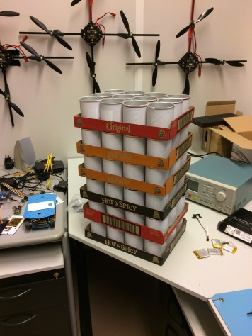 Sensor enclosure ready to be delivered to the Cobra museum