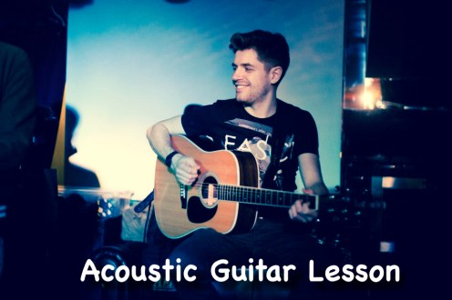 Acoustic Guitar Lesson in London - Kilburn Central London Kensington Beginners Med Advanced Acoustic Guitar Lesson