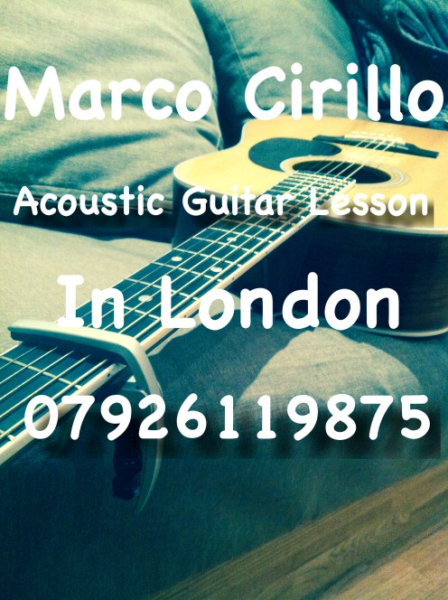 Learn Guitar in London Gloucester Road, Knightbridge, Hyde Park Corner, Green Park, Piccadilly Circus, Leicester Square, Covent Garden, Holborn, King's Cross St Pancras, Notting Hill, West Kensington Acoustic Guitar