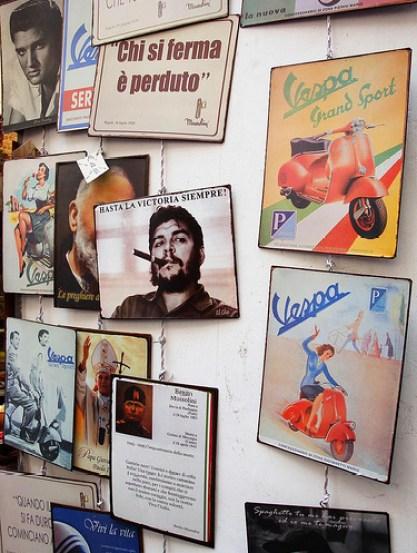 il Che, Mussolini e ...la Vespa, sintesi Italiana - di Ivana Alarcòn Lucanero