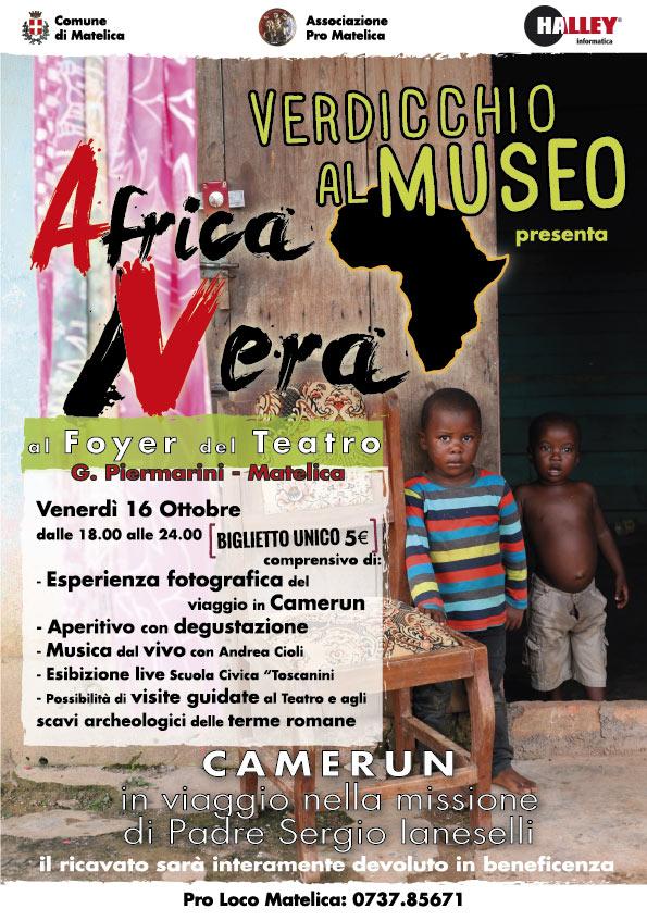 """Volantino """"Africa Vera - Africa Nera"""""""