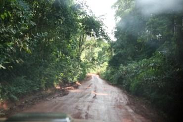 una strada da qualche parte in Africa - foto mia