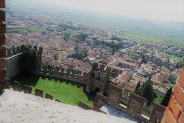 Soave visto dal castello