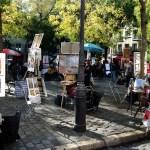 Montmartre - Place du Tertre di giorno