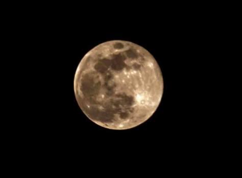 La foto della Luna è di Sauro Falzetti, l'ha fotografata poco fa, cade a fagiolo per il pezzo, grazie.