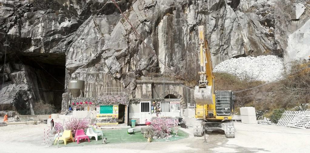 Il tour del marmo, una scenografia particolare.