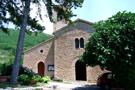 Fiastra - Chiesa del Beato Ugolino