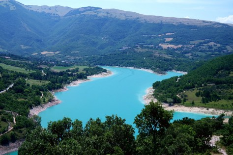 Lago di Fiastra - Panorama