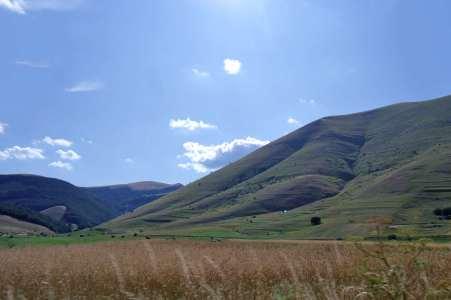 Castelluccio e nient'altro - Panorama