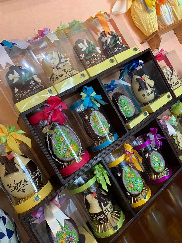 Fedeli, alta cioccolateria - le uova di Pasqua