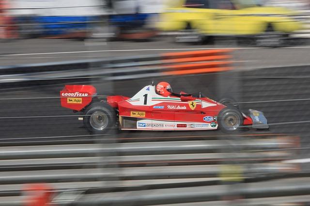 Rush e la velocità, Lauda in corsa - Foto di hei67ko da Pixabay
