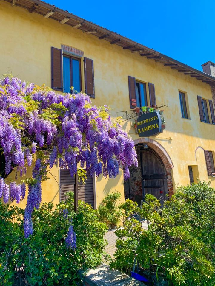 """Lino Gagliardi, cucina e natura - ingresso dell'antica osteria """"La Rampina"""""""