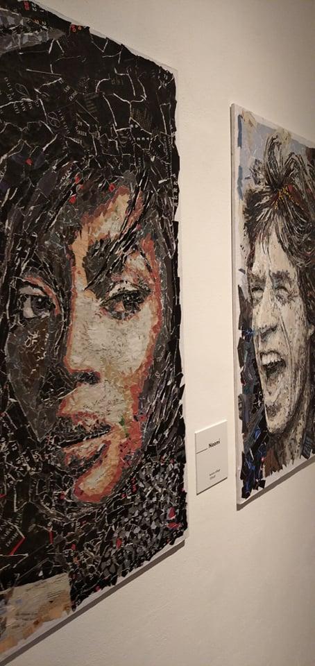 Naomi Campbell e MIck Jagger.