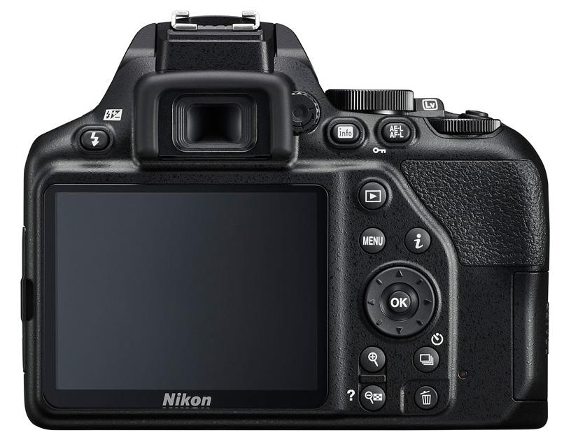 Nikon D3500 display LCD Mirino