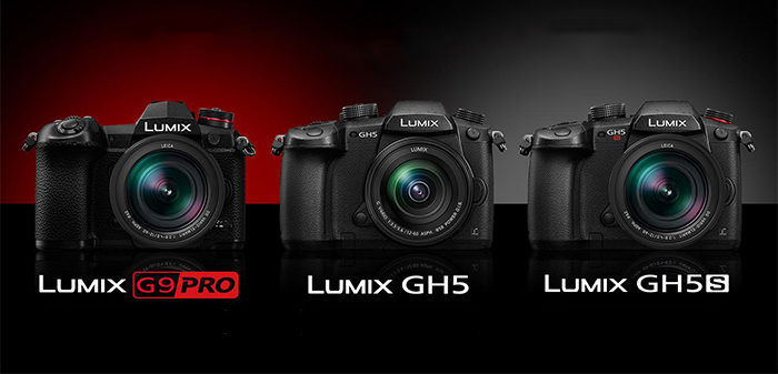 Panasonic Lumix G9 - GH5 - GH5s