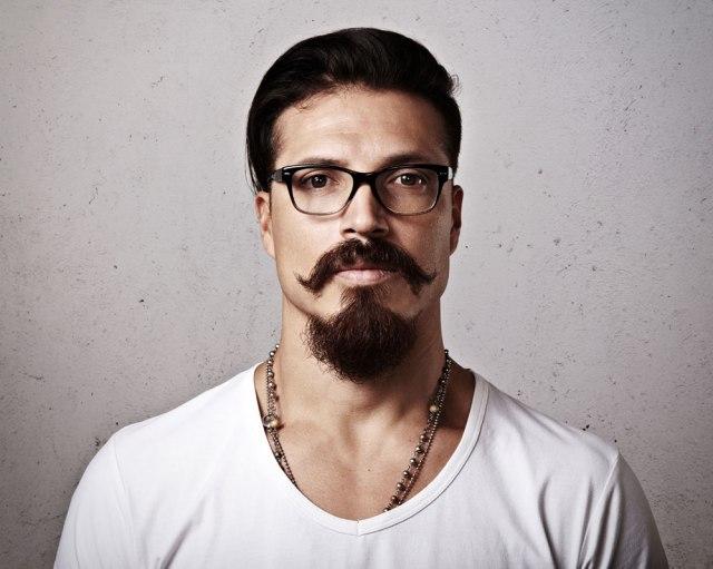 estilo de barba van dyke