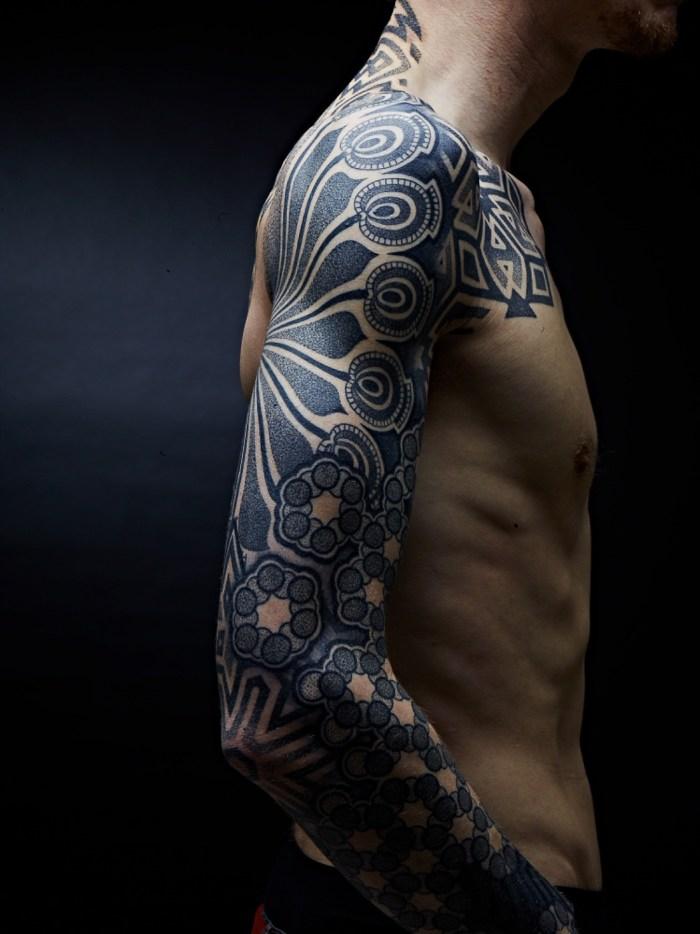 tatuagem sleeve