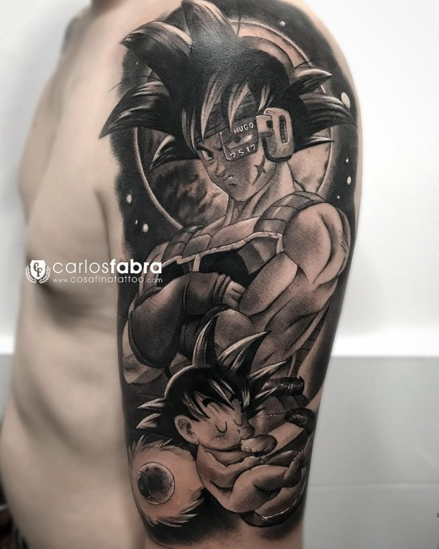 Tatuagem do Dragon Ball
