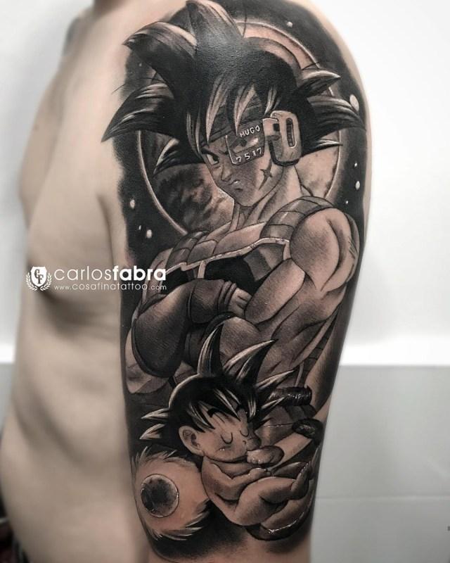 Tatuagem do Dragon Ball