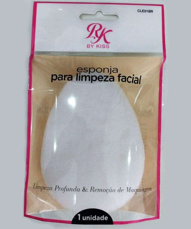esponja de algodão para limpeza facial