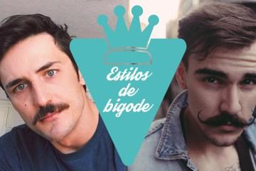 estilos de bigode