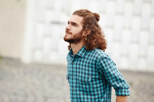 cabelo longo grunge cacheado