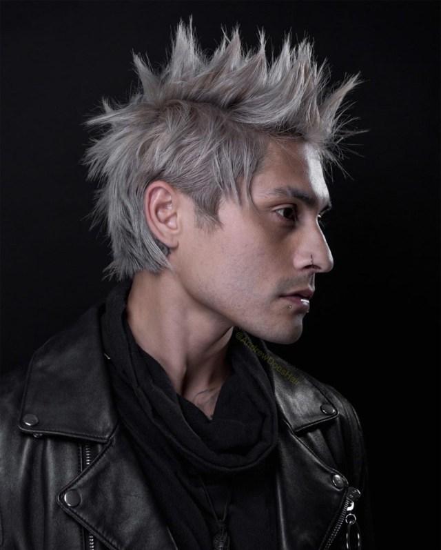 Corte de cabelo masculino textura e arrepiado