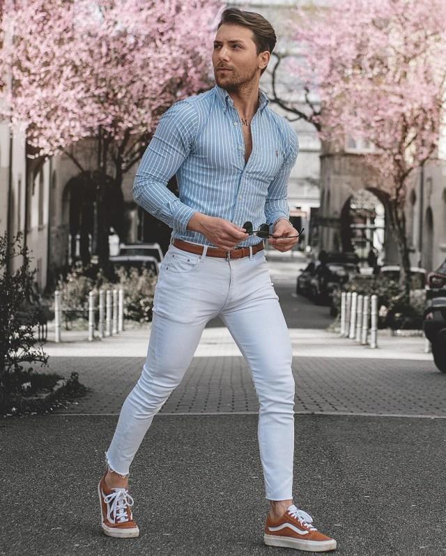 Look masculino de primavera verão