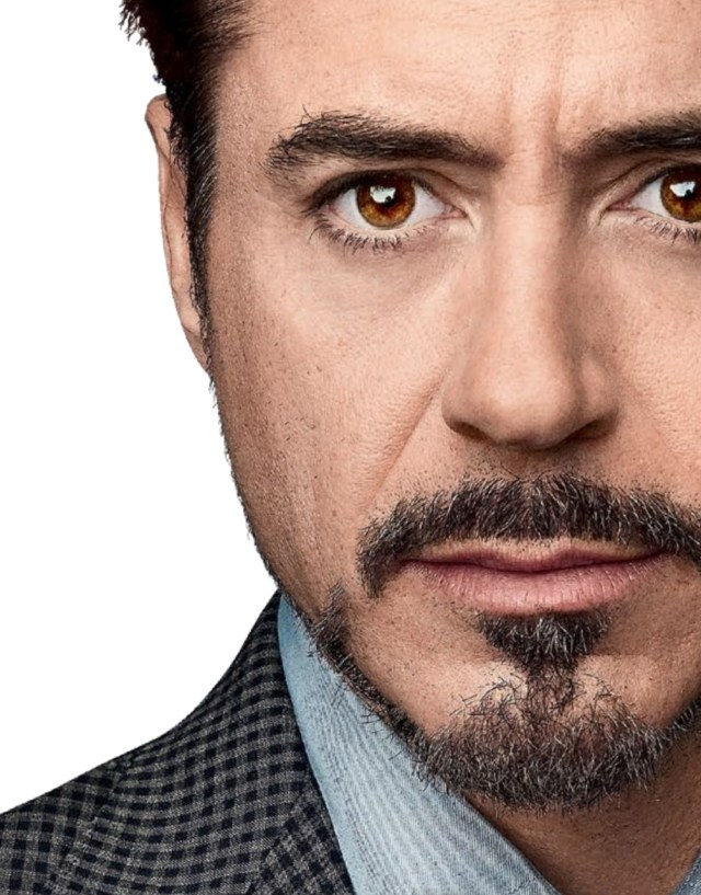 Barba do Robert Downey Jr