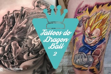 Tatuagens do anime Dragon Ball