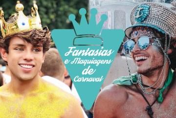 Fantasias masculinas de carnaval