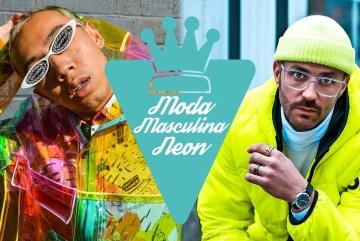 Neon: tendência de moda masculina