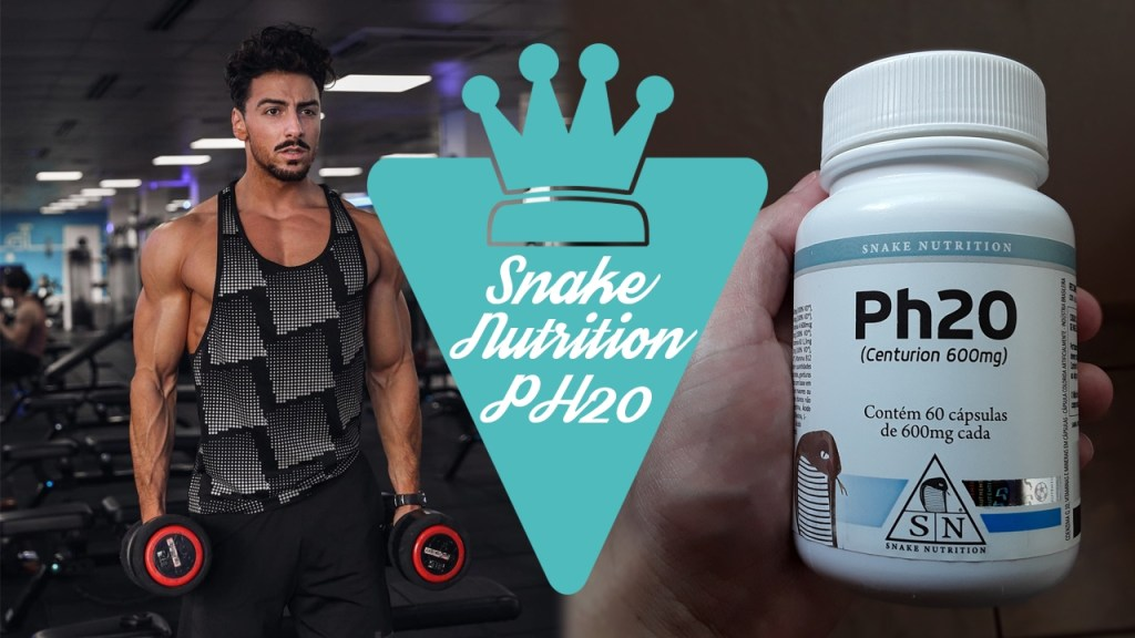 Suplemento PH20 da Snake Nutrition