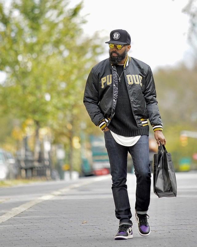 Dica de moda masculina: jaqueta Varsity