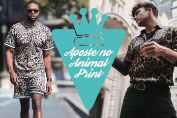 Moda masculina: Animal Print ou animale