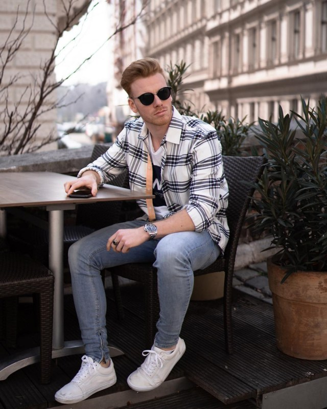 Dicas de moda para homens: camisa xadrez