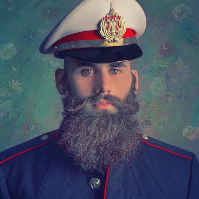 Como cuidar da barba lenhador