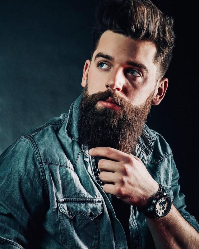 Como fazer a barba lenhador